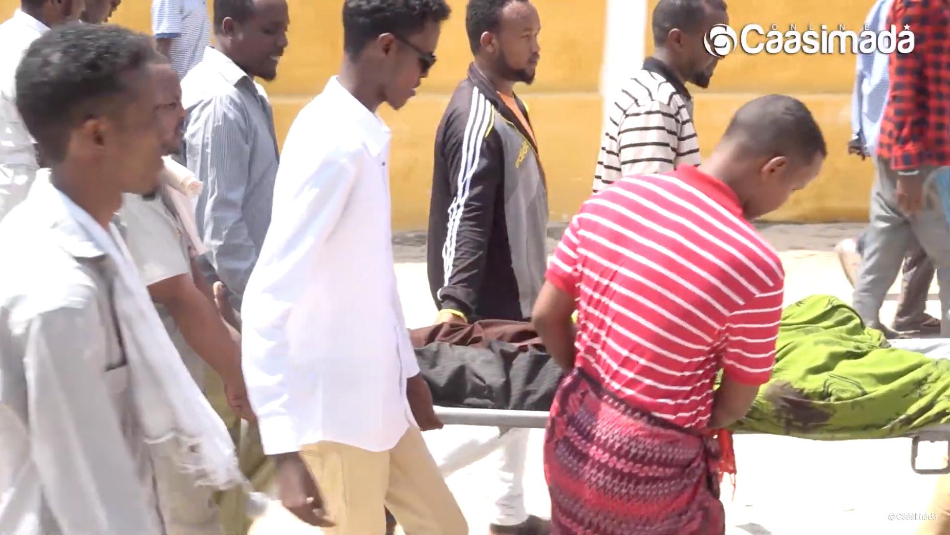 [DAAWO] Ciidanka Burundi oo Muqdisho ku xasuuqay dad xamaalanayey
