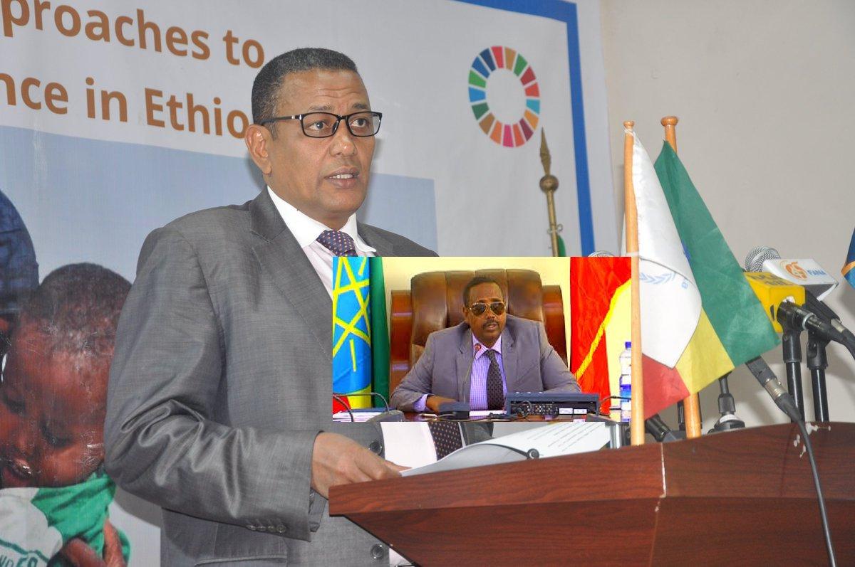 [Sirculus:] Beenta taliyaha Boliiska Ethiopia iyo Sababta loo jirdilay `Madaxweyne Cabdi iley .