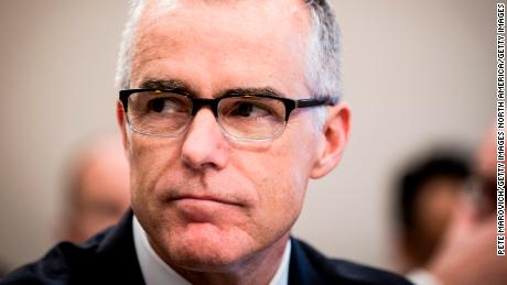 McCabe says Republicans 'mischaracterized' his testimony on Trump dossier