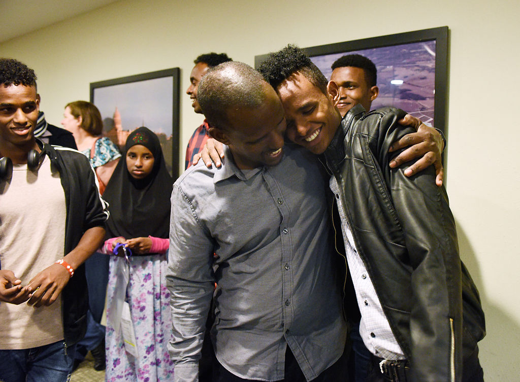 Son left in Ethiopia reunites with Somali family after travel ban blocked