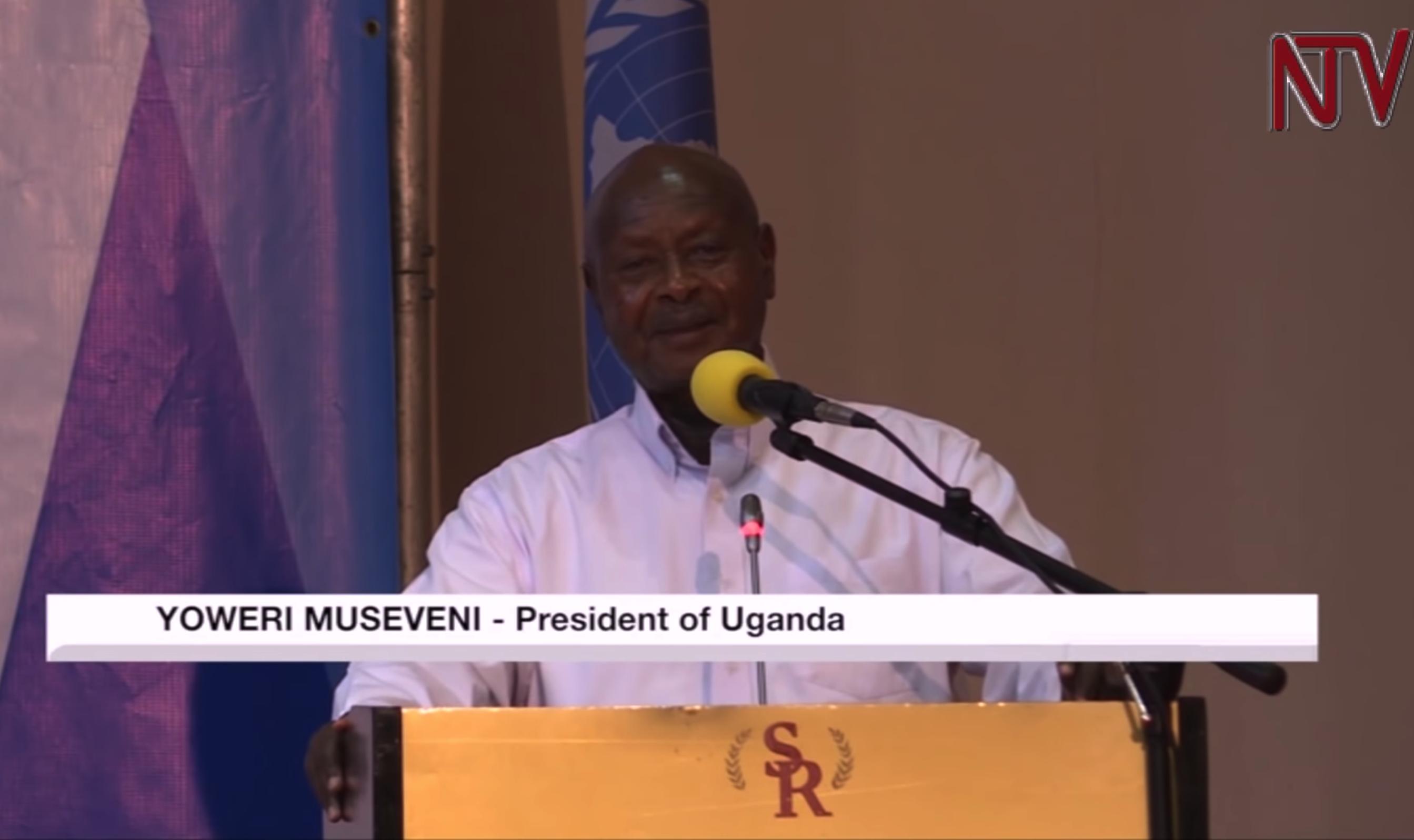 """[DAAWO] Madaxweynaha Uganda Ragga doonaya iney gabdhaha dharbaaxaan ugu baaqay iney Somalia tagaan """"Gabdhaha Uganda lama dharbaaxi karo"""""""