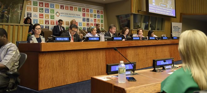 Progress has been made, but 'not at a sufficient speed to realize the SDGs': UN ECOSOC President