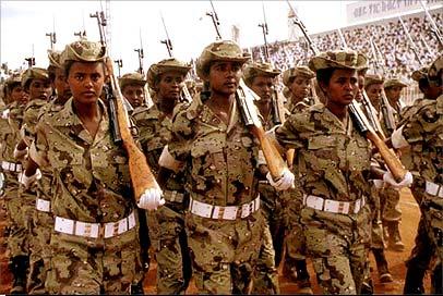MPs seek debate on 'deployment' of Eritrean and Ethiopian forces