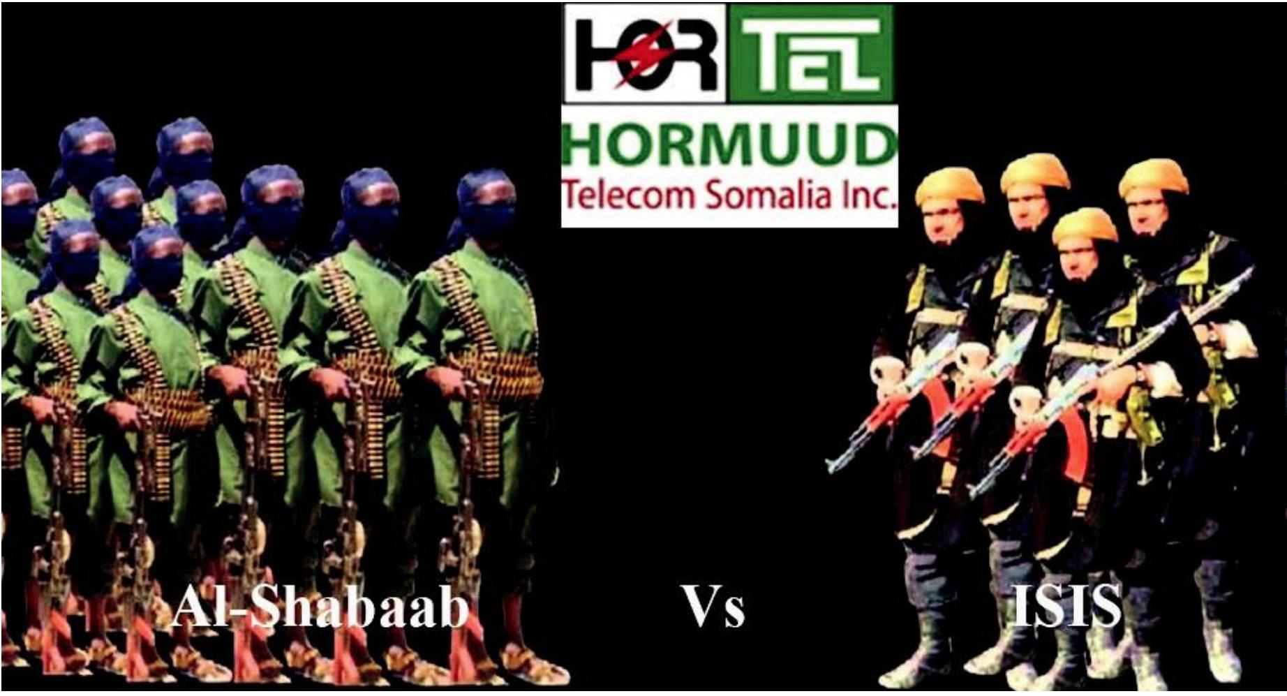 Hormuud telecom Caught between Al-Shabaab-ISIS Rivalry in Somalia