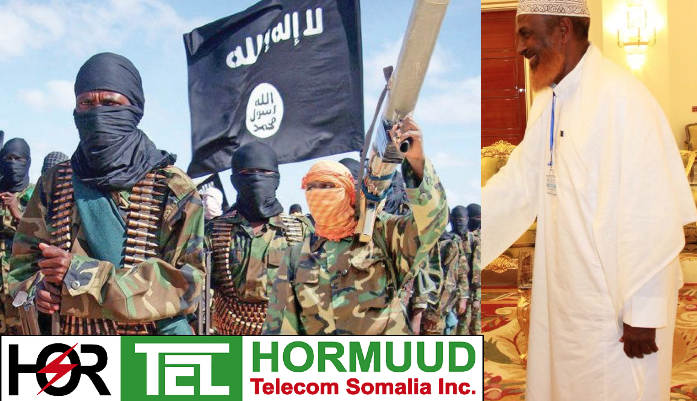 Somalia:Shareholders of Hormuud telecom have links with terrorist Al-Shabaab.