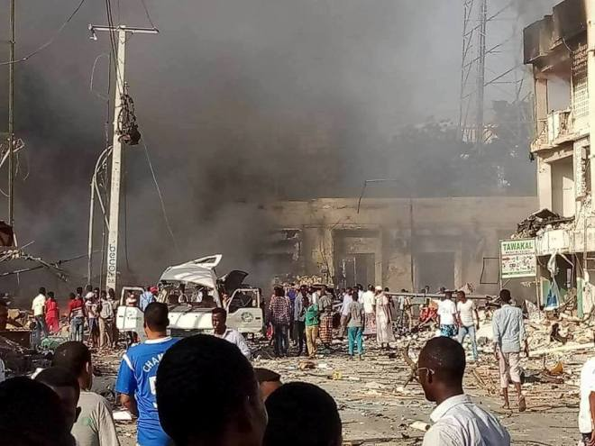 UN in Somalia condemns 'barbaric' bombings in Mogadishu