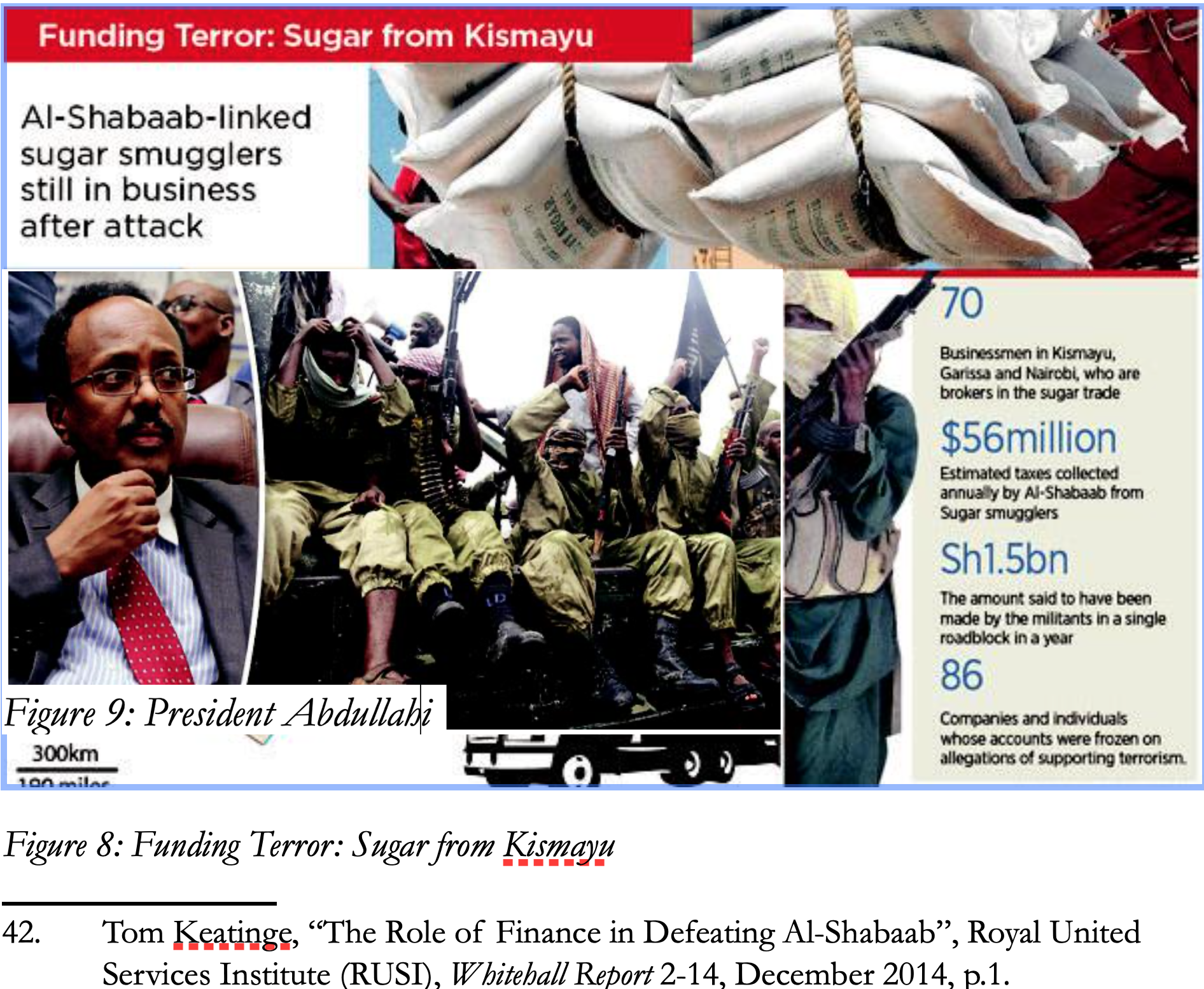 SOMALIA: Funding Terror: Sugar from Kismayo