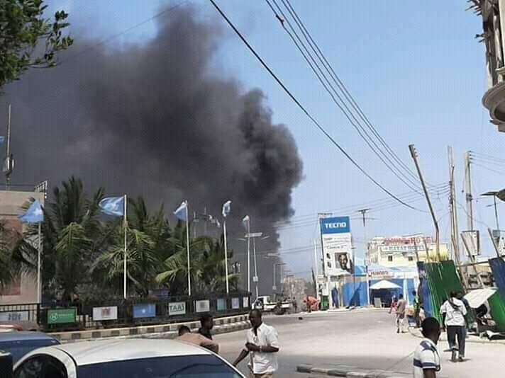 At least seven killed in bomb attack in Somalia's Mogadishu