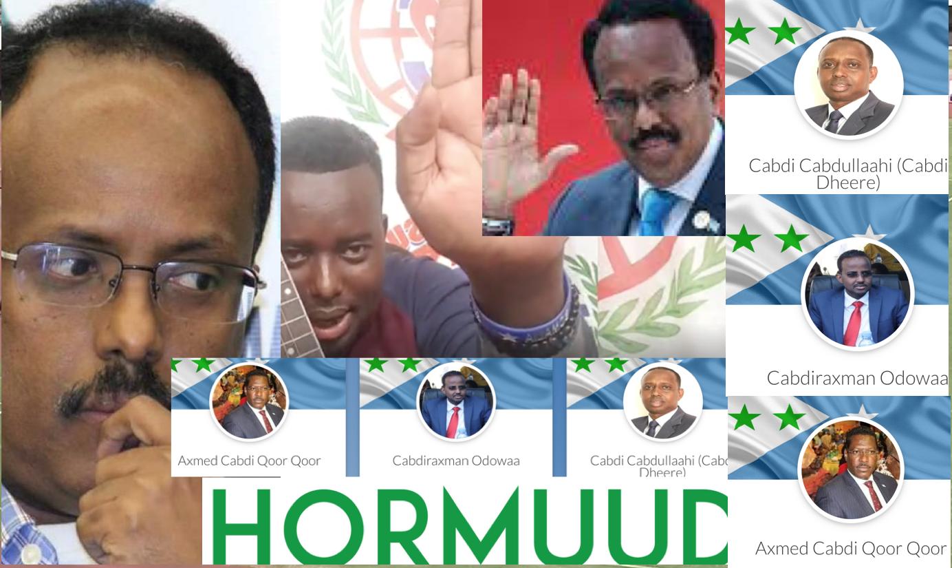 [DAAWO] Qubanaha Dahir Alasow Farmaajo oo timo sameystay iyo Loolanka Musharaxiinta Galmudug - Hoobiye lagu garaacay Villa Somalia