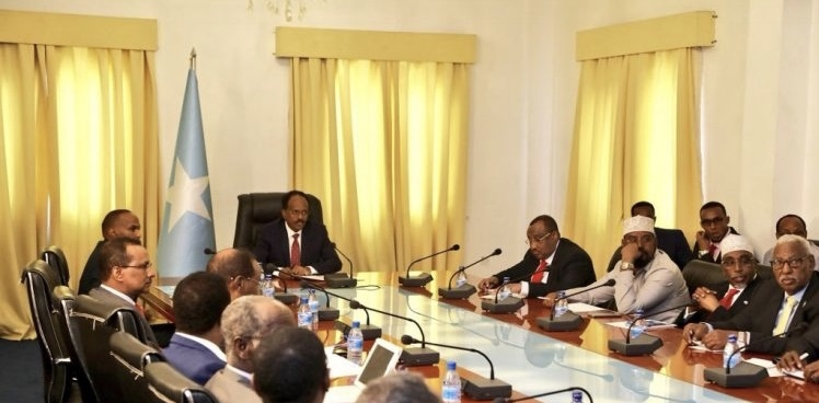 Farmaajo-States Meet Fails To Take Off As PM Khaire Rejects Intern.Community Involvement