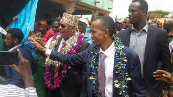 Somalia: Galmudug President Pays First Visit to Abudwak Town