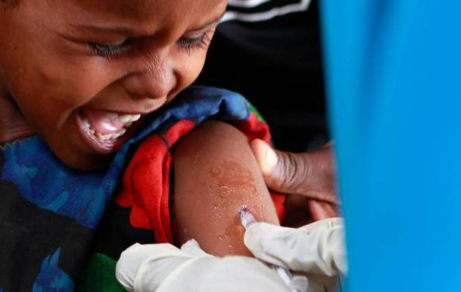 Measles vaccination campaign launched in Mogadishu