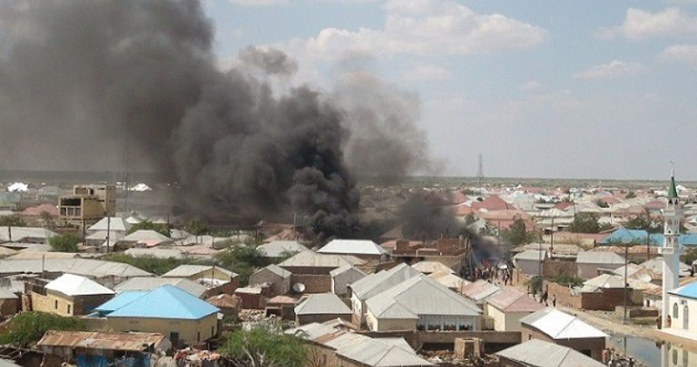 Vehicle explosion in Hodan district, Mogadishu