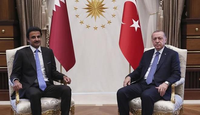 Qatari emir vows $15bn investment in Turkey after Erdogan meeting