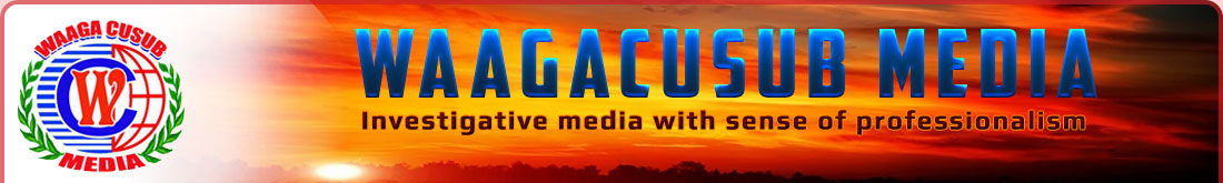 Waagacusub is Investigative media with sense of professionalism